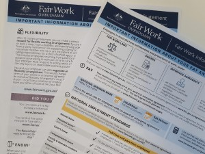 What you need to know about the new Fair Work Information Statement