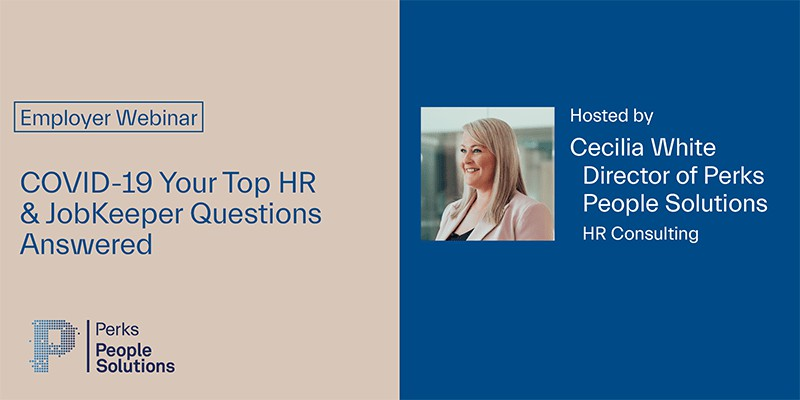<h4>COVID-19 – Your Top HR & JobKeeper Questions Answered<h4/>