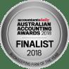 Australian Accoutning Awards Finalist