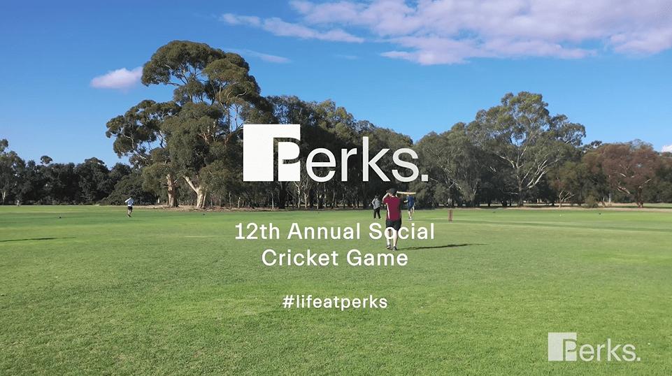 Perks Annual Social Cricket Game